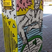 Lunch@Queen St Mall Traffic Box