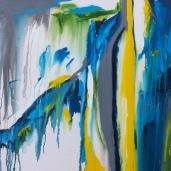 Audreysjl 24 Oct 2013 Acrylic on canvas