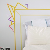 Washi Tape Headboard audreysjl