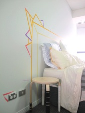 Washi Tape Headboard audreysjl SIDE