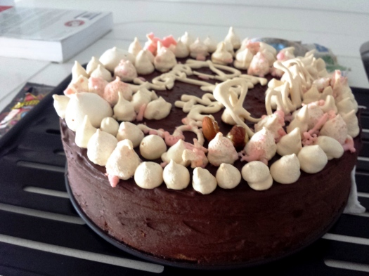 Chocolate,Hazelnut&Almond entremet